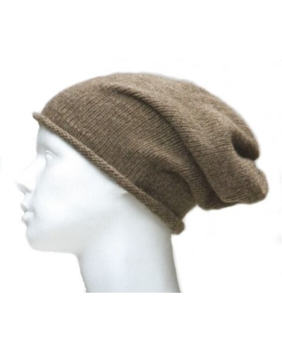 Bonnet cashmere - couleur taupe (167)