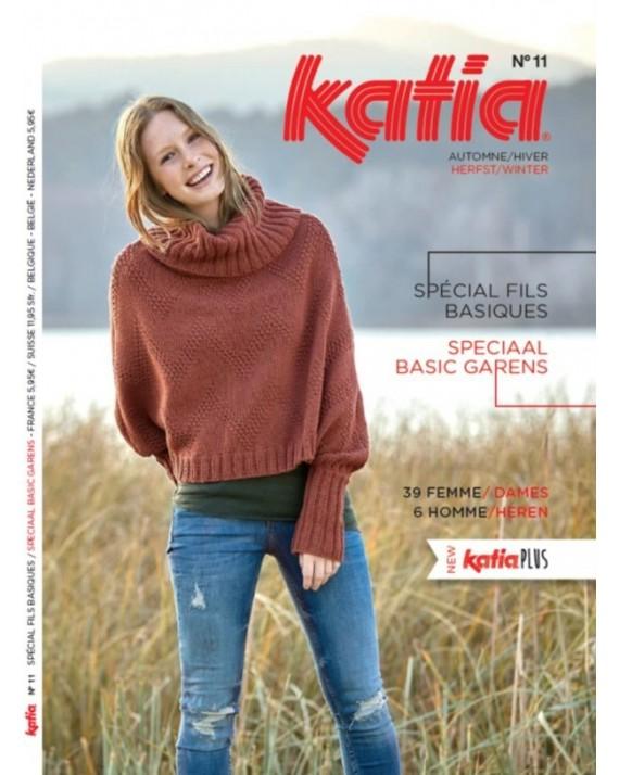 Catalogue Katia 11 Spécial Fils Basiques