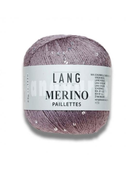 Merino Paillettes Couleur 48