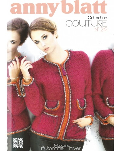 Catalogue Anny Blatt Collection Couture N°219