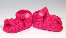 Chaussons au crochet - Sandales et ballerines