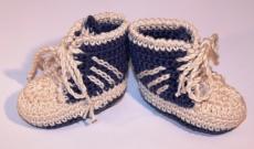 Chaussons au crochet - Basquettes et bottines